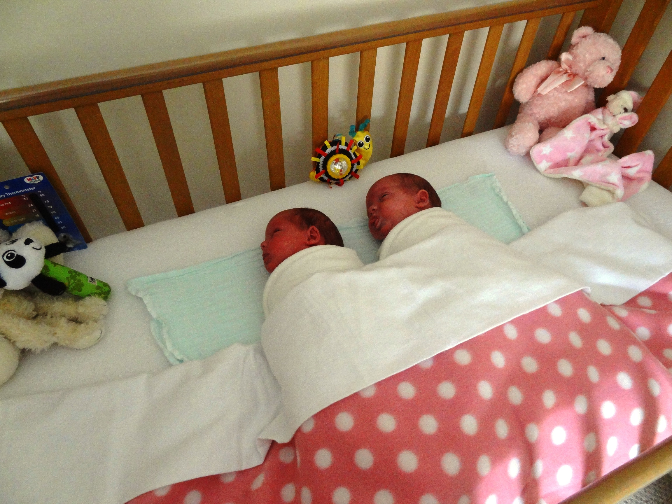 Baby bed twins - Finally