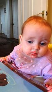 Delicious raspberry/snot combo