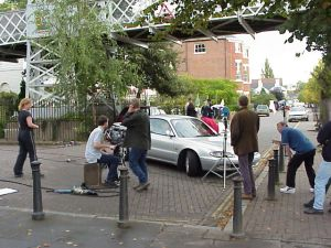 Hollyoaks_Filming_990916
