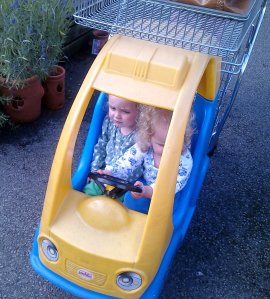 Joyriding at the Garden Centre